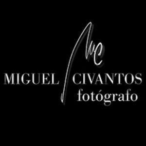 logotipo del fotógrafo miguel civantos