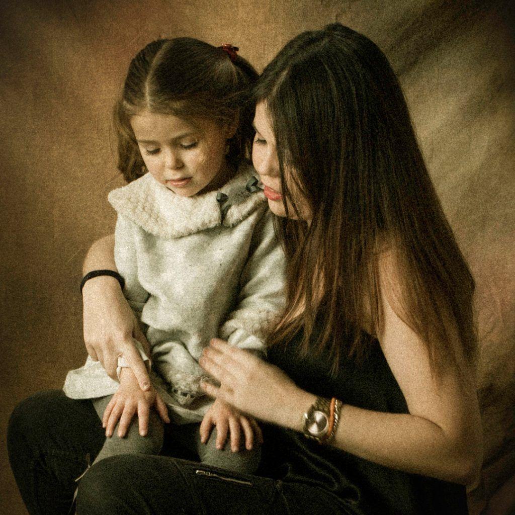 Fotógrafo de niños, Alea y Aitana
