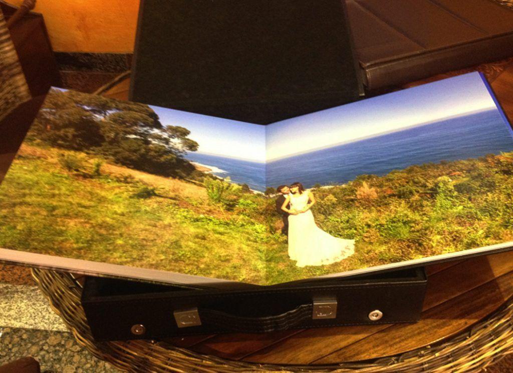 álbum de boda
