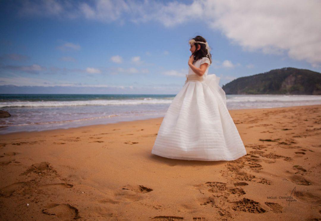 Fotos de comunión en la playa