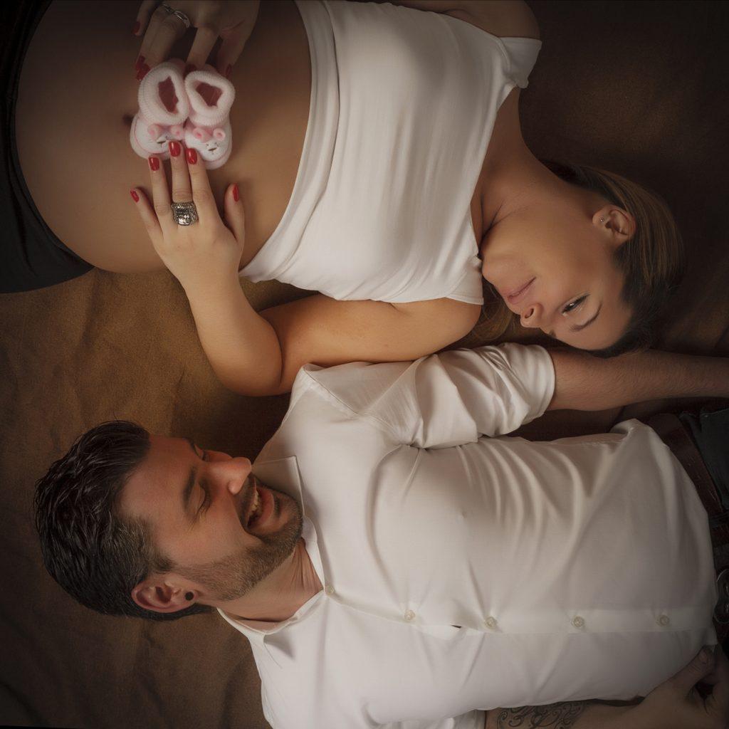 Sesiones de embarazo donde se nos unen hasta las mascotas
