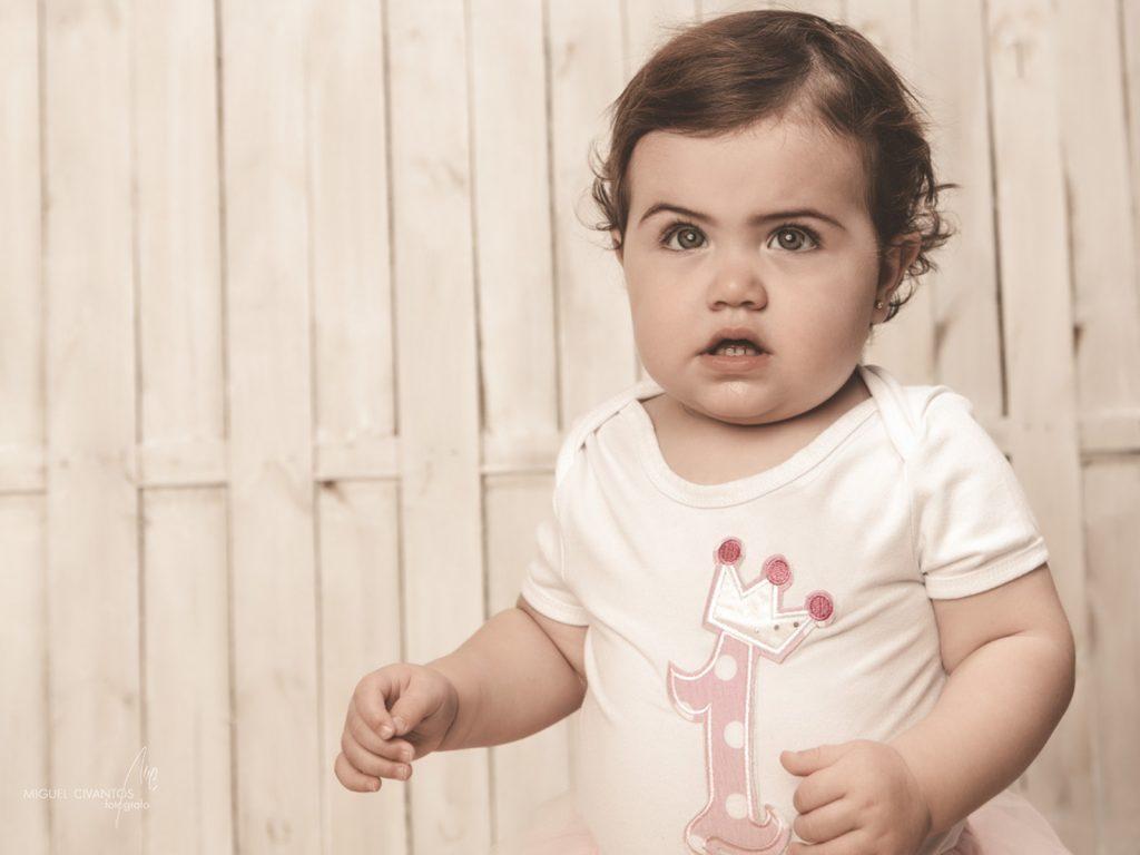fotógrafo de niños como Valeria
