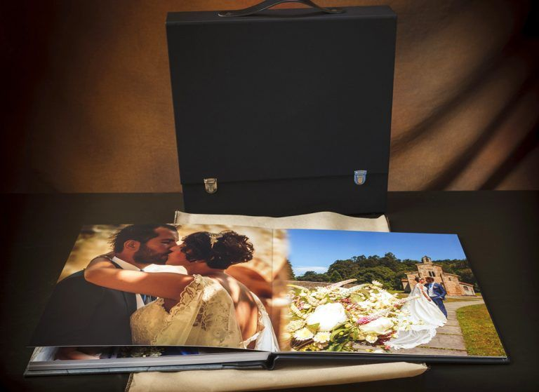 álbum de boda villaviciosa grid