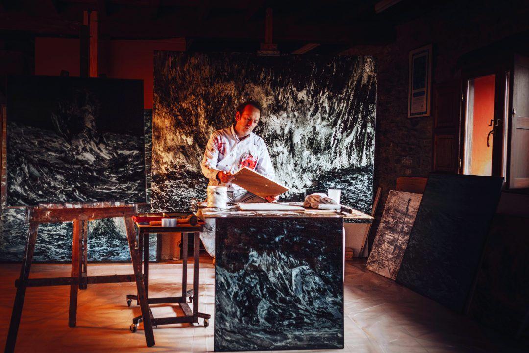 Fotografías de pintores