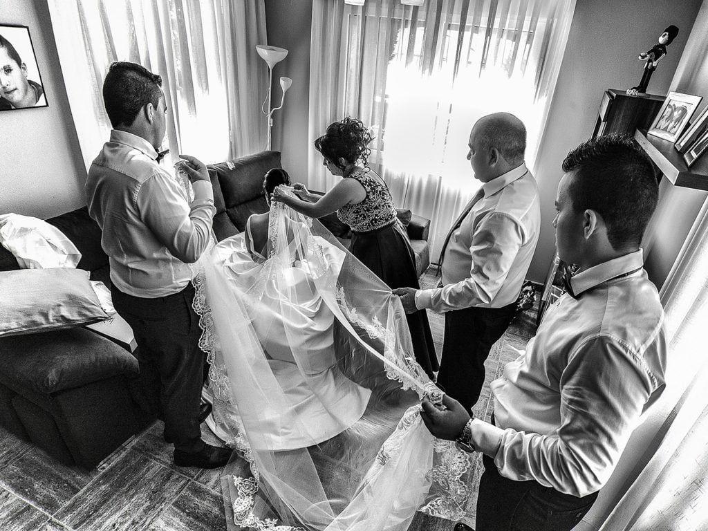 La boda de Aroa y Rubén