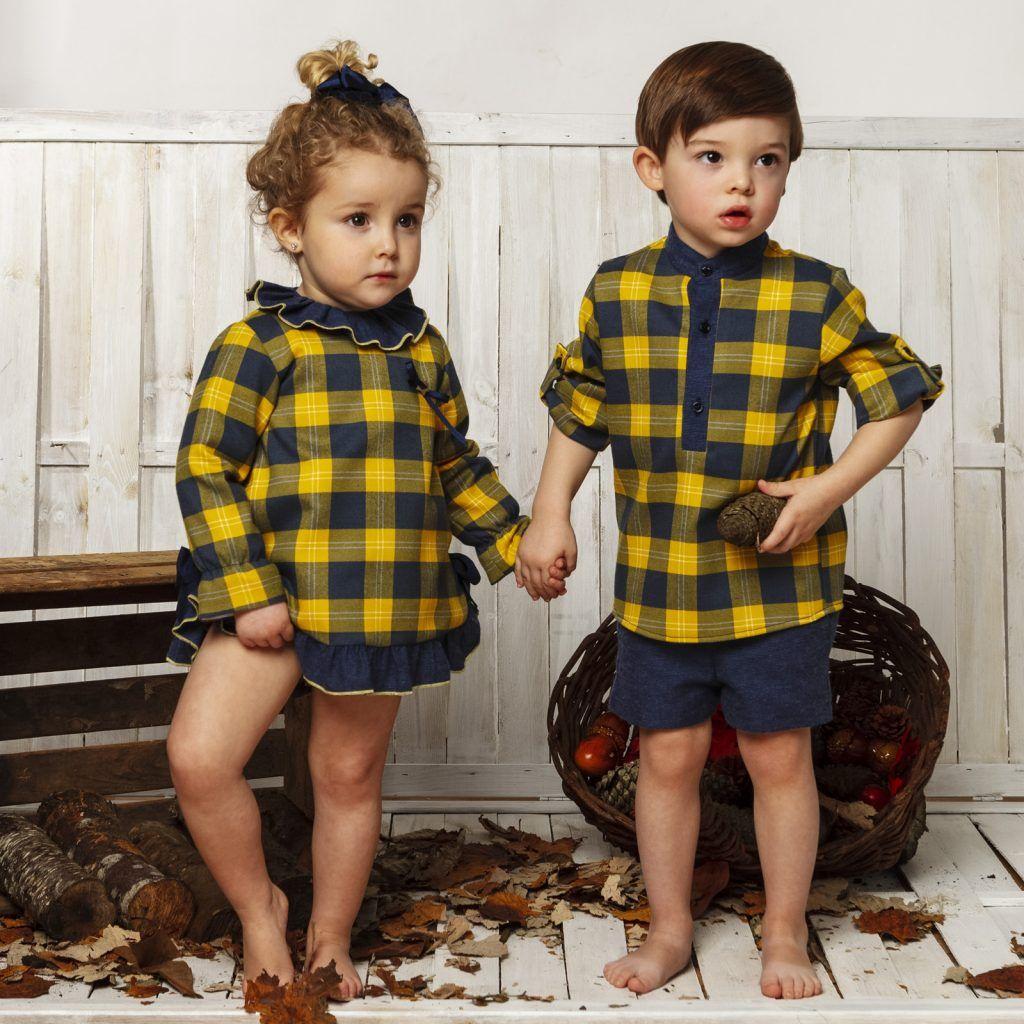 Colección de moda infantil de