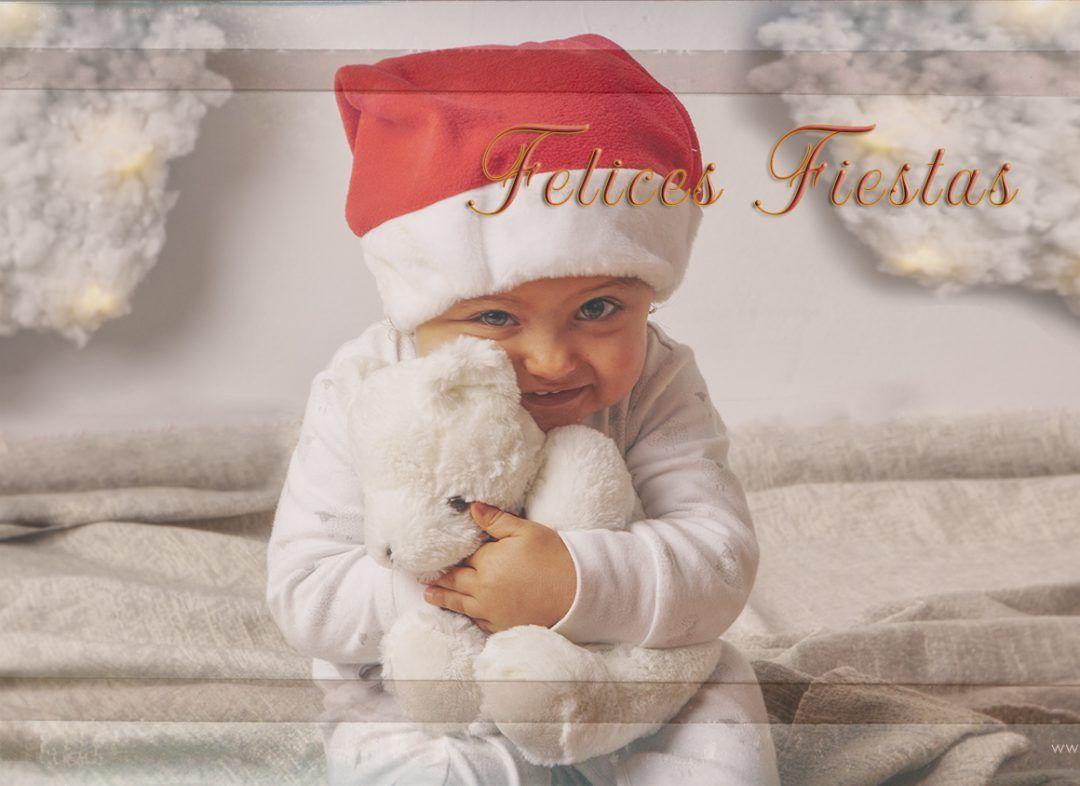 Sesión de fotografías de Navidad