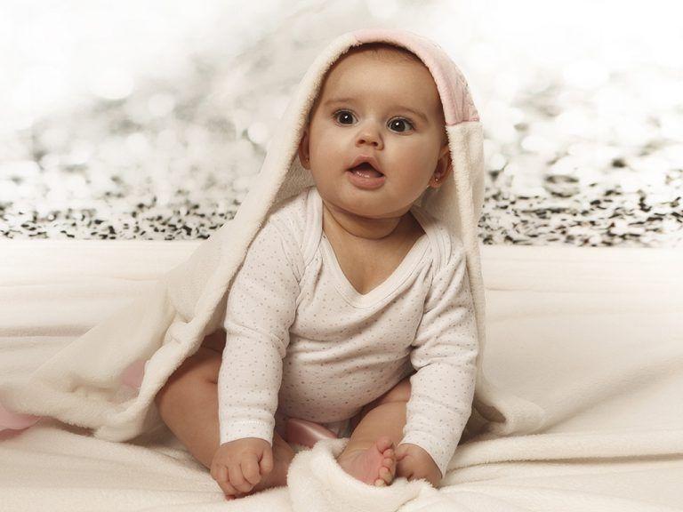 Las fotos de bebé de Eyra